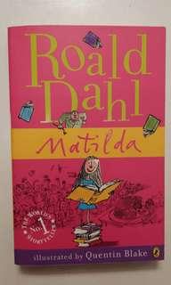 Book - Matilda Roald Dahl