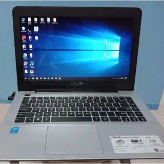 Asus core i3 second x455L jual murh cpt