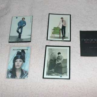 BIGBANG PHOTOCARDS *GDRAGON YG CARD *BIGBANG WELCOMING COLLECTION 170 php each