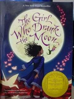 The Girl Who Drank The Moon Novel by Kelly Barnhill