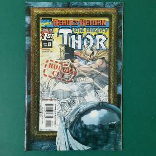 The Mighty Thor Rough Cut No. 1 comic
