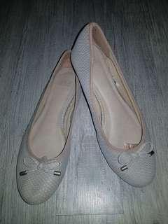Papaya nude pink shoes