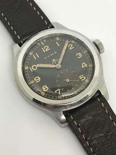 "CYMA WWW ""Dirty Dozen"" with original Radium Dial/hands"