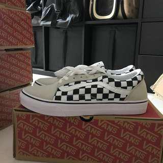 🚚 <INSTOCK> SIZE 45 Vans Old Skool Grey Checks