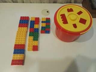 Bucket of block