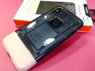 三禾電氣 Spigen IPhone X 10th Anniversary Limited Edition CLASSIC C1 case 黑色 手機殼 機套