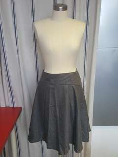 Stylish Jil Sander Grey Skirt