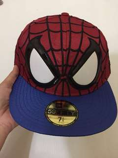 New Era Imported Spiderman Hat 100% Ori