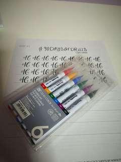 🚚 Brush Pen (6)