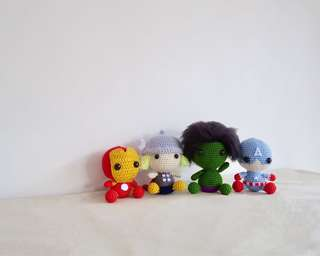 🚚 Avengers soft toys
