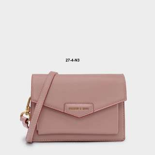 Charles & Keith Commuter Wind Clamshell