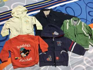 Baby Jackets (6-18 Mths)