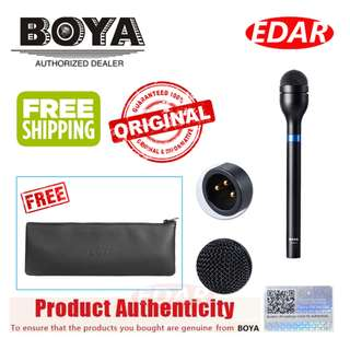 BOYA BY-HM100 DYNAMIC HANDHELD MICROPHONE ««ORIGINAL & OFFICIAL BOYA»»