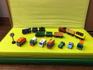 Wooden Vehicle Toys