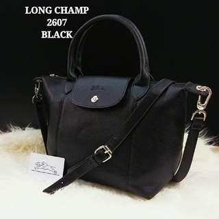 Longchamp Le Pliage Neo Cuir Black Color