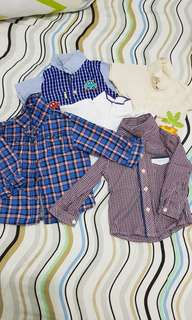 Set of polo and longsleeves