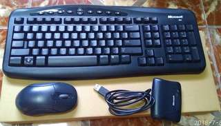 Microsoft wireless optical desktop 700