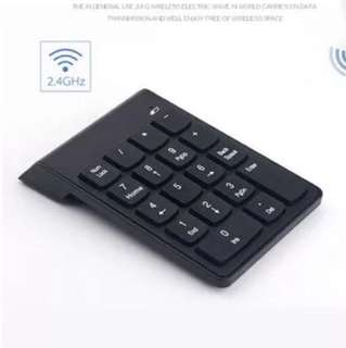 Bluetooth Numeric Keyboard