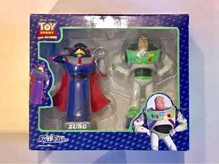 全新絕版Disney PIXAR Toy Story Buzz Lightyear 巴斯光年 ZURG 索克天王 公司擺設 Figure