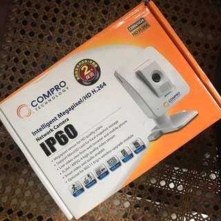 Compro ip60 ipcam with wifi adapter