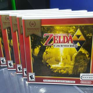 Zelda A link between world's
