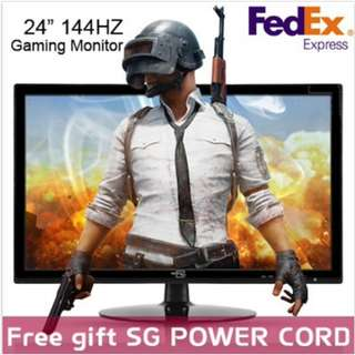 [AdvanceOne]24inch 144Hz Gaming Monitor AS-2414CLED Free Gift Power cableFree Fedex FHD