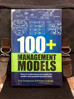 # Highly Recommended《Bran-New + Management Theories & Business Models For The Leaders Of Today and Tomorrow》100+ MANAGEMENT MODELS : How To Understand And Apply The World's Most Powerful Business Tools