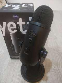 FLASH DEAL!! Half Price RM700 ONly!!! Blue Yeti USB Microphone !