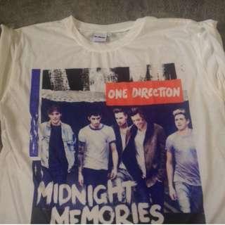 One Direction Midnight Memories Sleeveless shirt