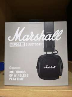 Marshall Major 3 III Wireless Bluetooth Headphones