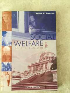 Social Welfare Policy and Analysis