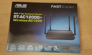 ASUS Wireless Dual-band Router RT-AC1200G+