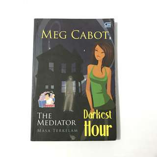 Meg Cabot The Mediator Darkest Hour