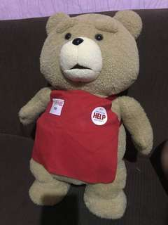 Ted stuffed toy