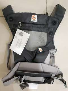 Ergobaby 360 cool air Baby Carrier Carbon Grey