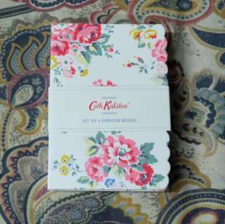 Cath Kidston A6 Exercise Books (set of 4)