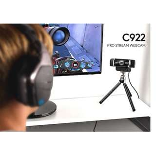 [original] Logitech C922 Pro Stream Camera Webcam (replacement of C920 C930) Singapore warranty
