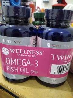 WELLNESS OMEGA 3 FISH OIL