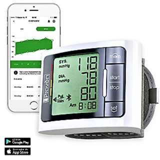 Blood Pressure Monitor | Wrist Cuff Type (Bluetooth Functionality) | Free Delivery