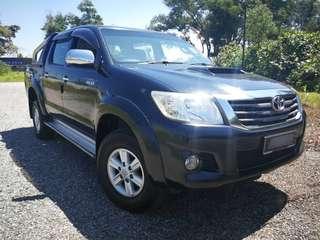 2013 Toyota Hilux 2.5 G VNT Facelift (A)