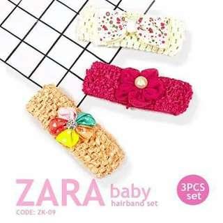 3pc Zara Hairband - ZK09
