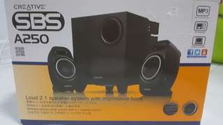 Creative SBS A250 Speaker System