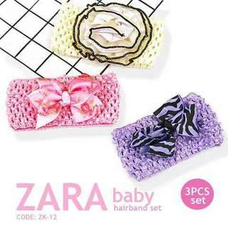 3pc Zara Hairband - ZK12