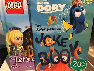 LEGO book and Disney pixar
