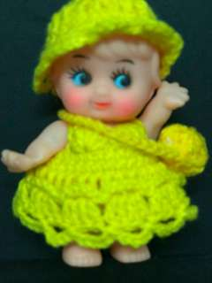 Yellow Girl Doll