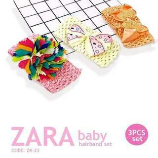 3pc Zara Hairband - ZK23