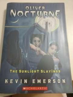 Oliver nocturne: the sunlight slayings (novel)