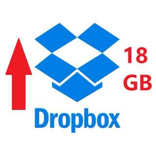 Increase your Dropbox space to 18 GB permanently