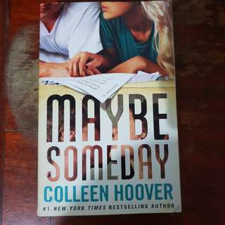 Coleen hoover maybe someday