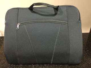 "Slim 15"" Soft Touch Briefcase/Laptop Sleeve"